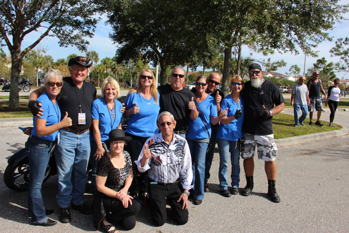 Members of the Southwest Florida biker community