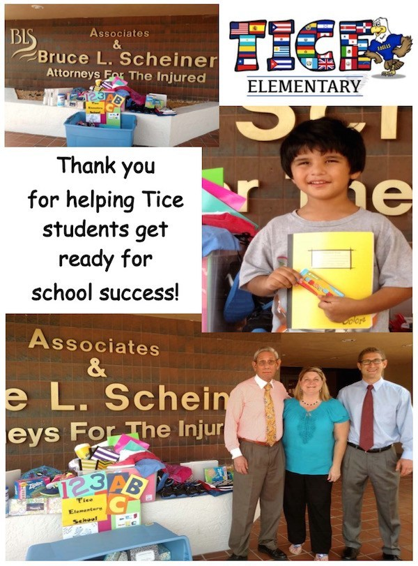 Our Team at Tice Elementary School